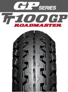 ダンロップタイヤ(DUNLOP)GP series TT100GP(前後輪共通)120/80-17 MC 61S WT 【送料無料】・ダンロップ・バイクタイヤ・フロント用・リア用・おすすめ