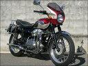 W650(99〜09年) ロードコメット メタリックマジェステックレッド/メタリックグレーストーン(ツートン)スモーク/エアロスクリーン シックデザイン【02P03Dec16】