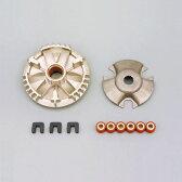 【セール特価】グランドアクシス100(GRAND AXIS)98〜07年 パワーアドバンス・スーパーハイスピードプーリーキット DAYTONA(デイトナ)