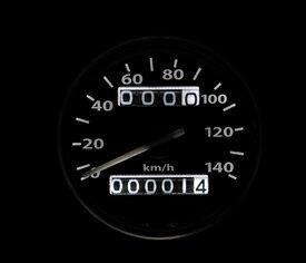 機械式スピードメーター140km/h トリップ...の紹介画像2