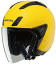 JF5 パールフラッシュイエロー Xサイズ ジェットヘルメット HONDA(ホンダ)