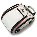 【セール特価】4R Rhythmストリームラインシートバッグ 9L ホワイト/レッド KIJIMA(キジマ)