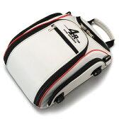 4R Rhythmストリームラインシートバッグ 9L ホワイト/レッド KIJIMA(キジマ)