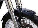スポーツスター XL(95〜08年) フロントフェンダー ブラッククローム MOTORROCK(モーターロック)