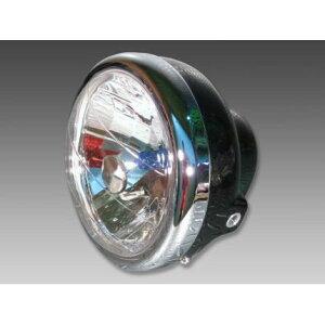 マルチリフレクターヘッドライトブラックMINIMOTO(ミニモト)APE50・APE100(エイプ)