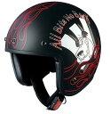 BOB-K ワッキーレース ケンケンブラック ジェットヘルメット OGK(オージーケー)