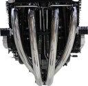 ゼファー1100(ZEPHYR) ステンレスエキゾースト モナカサイレンサー ラウンドサイレンサー マフラー PMC(ピーエムシー)