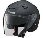 YJ-14 ZENITH(ゼニス) ラバートーンブラック Lサイズ ジェットヘルメット YAMAHA(ヤマハ・ワイズギア)