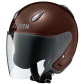 YJ-5III ZENITH(ゼニス) ダークブラウン XXLサイズ ジェットヘルメット YAMAHA(ヤマハ・ワイズギア)