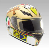 K-3 フルフェイスヘルメット THE CHICKEN(チキン) バレンティーノ?ロッシ Mサイズ(57?58cm) AGV(エージーブイ)