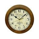 ショッピング電波時計 DQL711 レトロ電波時計(アンティーク電波掛け時計)