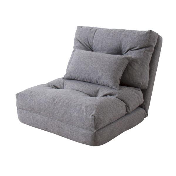 エリスシングル3WAYソファベッド  グレー LSS-29GY ソファ・カウチ・ベッドと3つの使い方ができるソファベッドです。一人暮らしのお部屋にもぴったり。急な来客用としても。