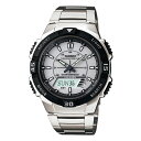 カシオ CASIO アナログ×デジタル ソーラー 腕時計 AQS800W-7E≪良品返品不可≫