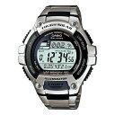 カシオ CASIO タフソーラー TOUGH SOLAR 腕時計 WS220D-1≪良品返品不可≫