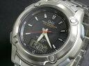 シチズン製 Q&Q 電波 ソーラー 腕時計 メンズ MCS2-302≪良品返品不可≫