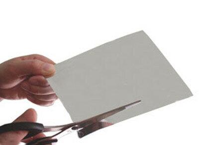 ハサミで切れる 割れない鏡 塩ビミラー [B4サイズ 厚さ0.5mm] 2枚セット