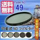 【FOTOBESTWAY】  可変式NDフィルターFader NDフィルター49mm