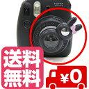 チェキ instax mini8 mini7s mini8+用 自撮りミラー付き 接写レンズ クローズアップレンズ Close-up lens【ブラック】