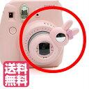 チェキ instax mini8 mini7s mini8+用 自撮りミラー付き 接写レンズ クローズアップレンズ Close-up lens【ピンク】