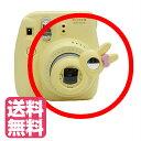 チェキ instax mini8 mini7s mini8+ mimi9 チェキ9 用 自撮りミラー付き 接写レンズ クローズアップレンズ Close-up lens【イエロー】