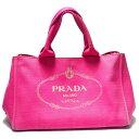 ショッピングプラダ 【中古】【可】 PRADA プラダ バッグ ハンドバッグ トートバッグ カナパS スモールサイズ キャンバス ピンク ゴールド金具 BN2439 レディース ブランドバッグ