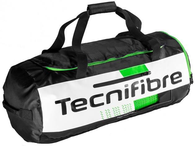 テニス スカッシュ バドミントン スポーツバッグTecnifibre(テクニファイバー) SQUASH GREEN TRAINING BAG(ラケット収納可能)【あす楽対応】
