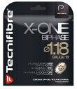 スカッシュ ストリング スカッシュ ガット Tecnifibre(テクニファイバー)スカッシュストリング X-One Biphase(φ1.18)ナチュラル【あ..