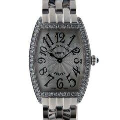 FRANCK MULLER【フランクミュラー】 ベゼルダイヤ  トノウ カーベックス 腕時計 /SS(ステンレススチール) レディース