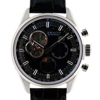 Zenith ZENITH Kurono master opening moon phase 03.2160.4047/21.C714 SS 45mm black innovation product