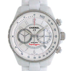 CHANEL【シャネル】 スーパーレッジェーラH3410 J12 腕時計 /セラミック メンズ