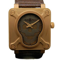 Bell&Ross【ベル&ロス】 BR01-92-SKULL-BR 腕時計  メンズ
