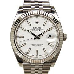 ROLEX【ロレックス】 Ref.126334 腕時計 SS/K18ホワイトゴールド メンズ