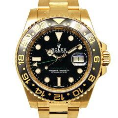 ROLEX【ロレックス】 Ref.116718LN 7462 腕時計 K18イエローゴールド メンズ