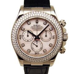 ROLEX【ロレックス】 ef.116589RBR 7726 腕時計 K18ホワイトゴールド メンズ