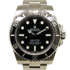 ROLEX【ロレックス】 Ref.114060 7659 腕時計 SS メンズ