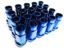 鍛造アルミ ホイールナット B ブルー 20個セット M12-P1.25 HEX19mm 【05P03Dec16】