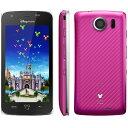 [中古 Dランク] softbank Disney Mobile DM010SH ピンク 本体のみ【送料無料】【エコモ】