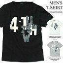 メンズTシャツ 半袖Tシャツ クルーネックTシャツ プリントTシャツ tシャツ Tシャツ ティーシャツ 綿100% サガラ刺繍 カットソー M L L..