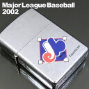 ZIPPO ジッポ ライター ジッポライター Expos エクスポス 2002年 MLB