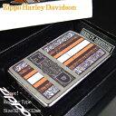 【即納】【即納】【ハーレーダビッドソン】Zippo Harley-Davidson Orange ハーレーダビッドソン ジッポ 24767