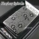 zippo ジッポー/ジッポ Playboy Spirals 28075
