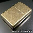 ZIPPO ジッポ ライター ジッポライター Antique Brass(ブラス:真鍮) 201FB