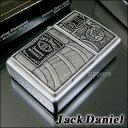 【即納】【アルコール】【楽ギフ_名入れ】Zippo Jack Daniel's Bottle ジャックダニエル ウィスキー ジッポ 21016