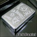【即納】【アルコール】【楽ギフ_名入れ】Zippo Jack Daniel's All Over ジャックダニエル ウィスキー ジッポ 21173