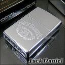 【即納】【アルコール】【楽ギフ_名入れ】Zippo Jack Daniel's Logo ジャックダニエル ウィスキー ジッポ 250JD321