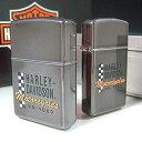 【即納】【ハーレーダビッドソン】Zippo Harley Davidson Midinight Logo 2 type ハーレーダビッドソン ジッポ HD401
