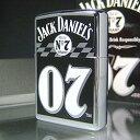 【即納】【アルコール】【乗り物】【楽ギフ_名入れ】Zippo Big #07 ジャックダニエル ウィスキー ジッポ ZM1127