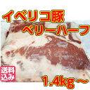 【送料込み】イベリコ豚=【バラ肉】=業務用-ハーフベリー約1.4kgブロック角煮、ラフ
