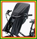 ブリヂストン (BRIDGESTONE) 自転車用シートカバー bikke(ビッケ) HYDEE II(ハイディツー) 専用 フロントチャイルドシートカバー (FCC-HDBK)