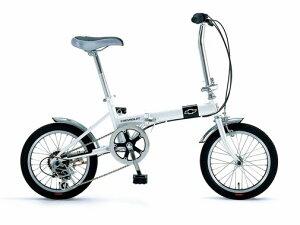 【送料無料!防犯登録無料!傷害保険無料!】【2010年モデル】CHEVROLET(シボレー)CHEVYFDB16616インチ折りたたみ自転車6段変速おまけ(自転車カバー+ワイヤー錠+ネームシール)付き!!